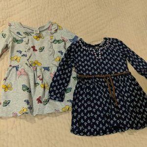 Set of two sweet fall dresses